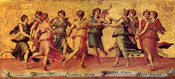 Giulio Romano - Apollo si muzele